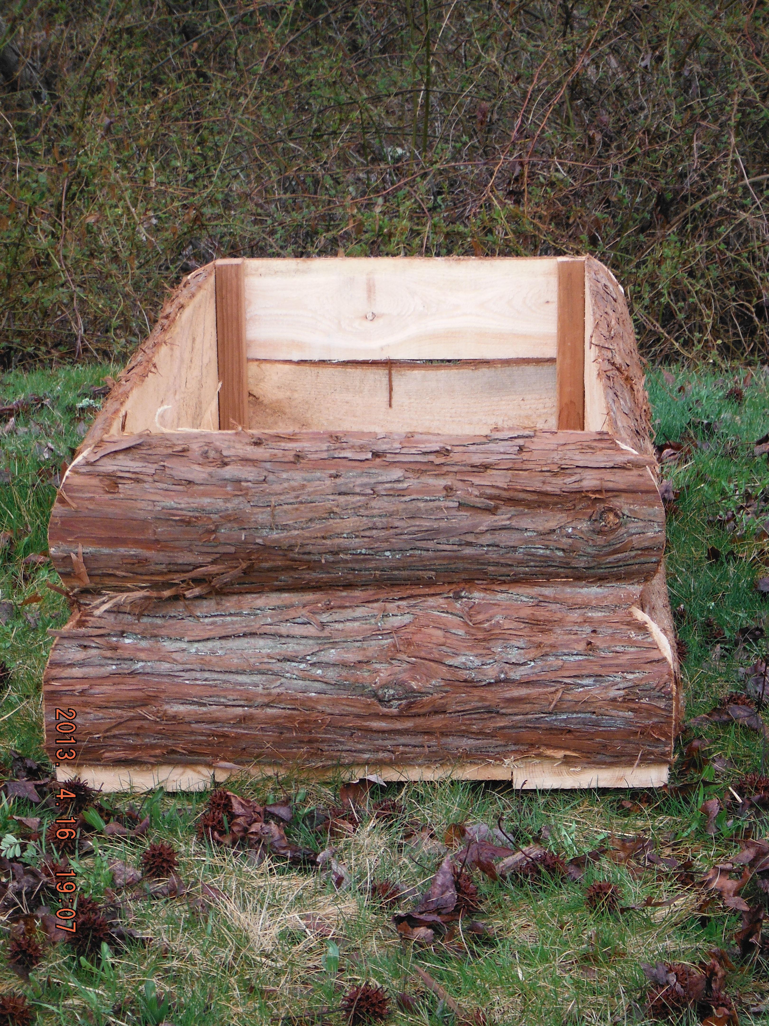 Log Raised Garden Box Medford Cedar Products